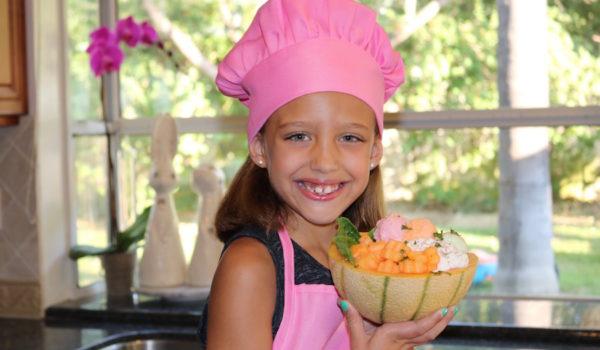 Cantaloupe Treat Bowl