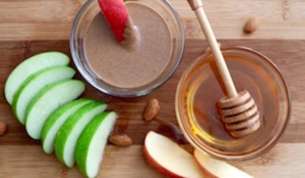 tn apple almond butter snack