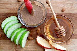 tn apple almond butter snack