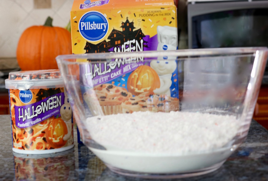 halloween cake mix