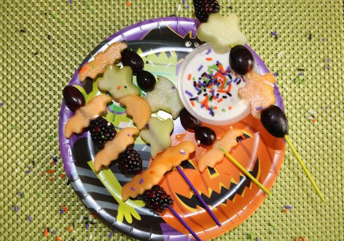 halloween fruit kabobs
