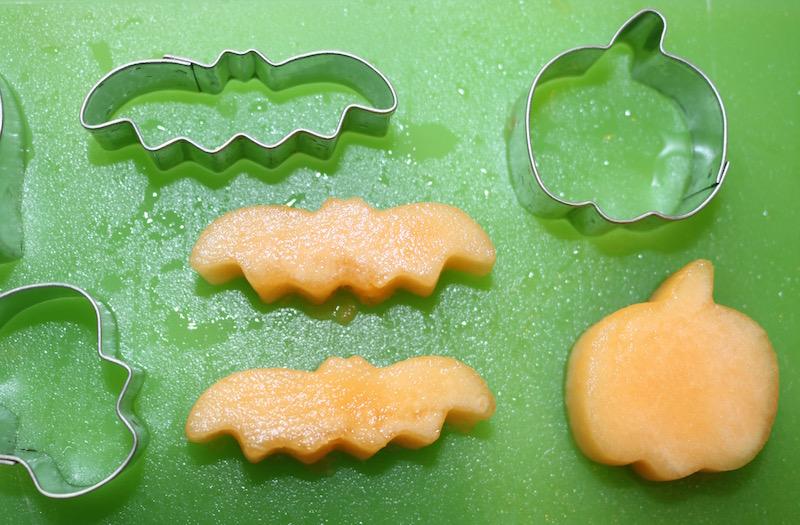 mini halloween cutters