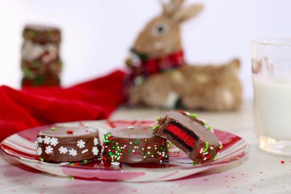 red oreo cookies