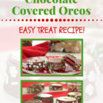 holiday chocolate covered oreos pin