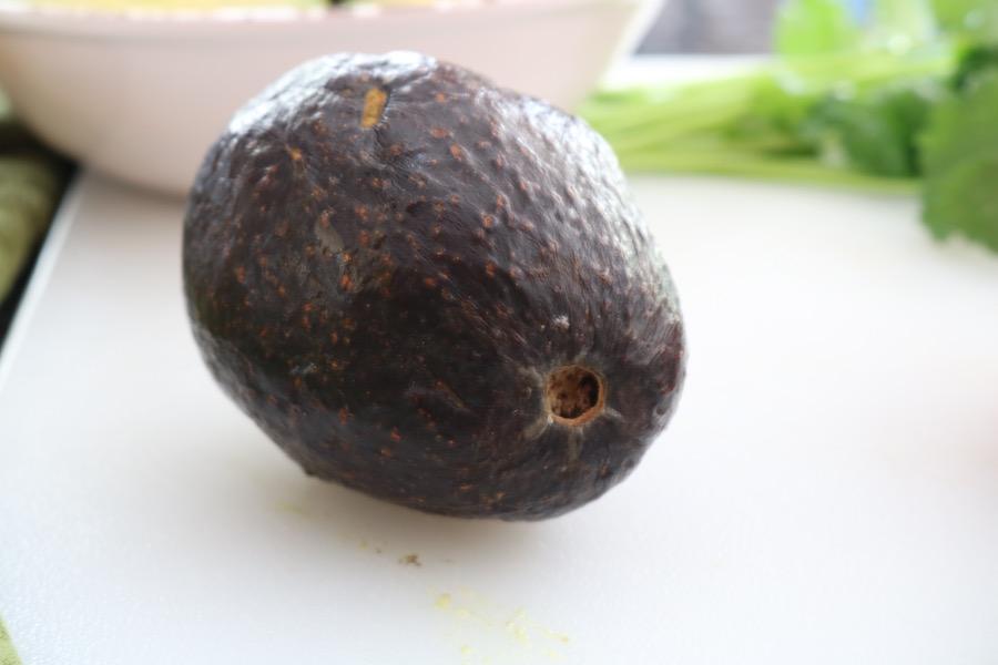 avocado overripe