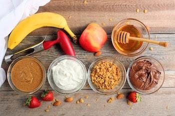 easy apple snacks ingredients