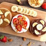 easy apple snacks with nut butters 2