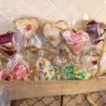 tn blueberry heart pie pops in basket