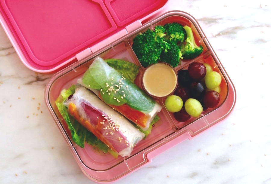spring roll lunchbox