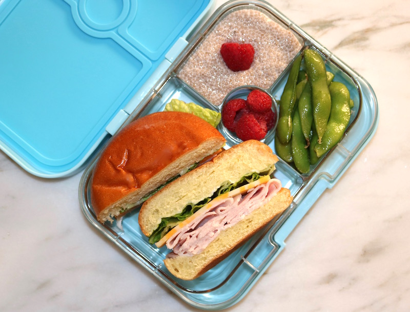 classic turkey sandwich lunchbox