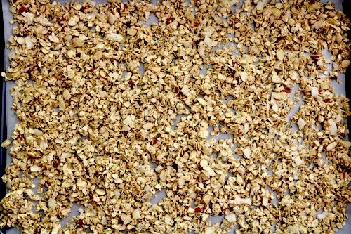 homemade granola recipe pre bake