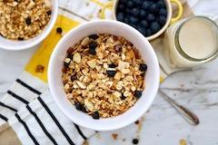 tn homemade granola recipe with blueberries