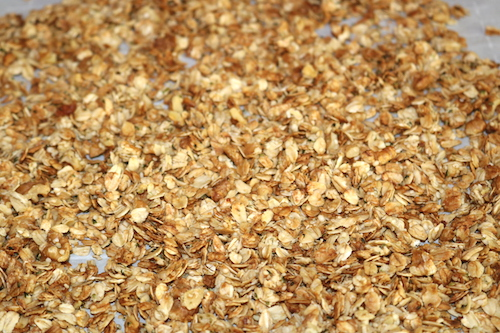 baked healthy granola recipe