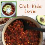 best 3 bean chili recipe pin