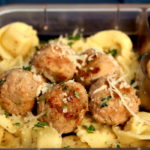 easy turkey meatball lunch