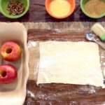caramel apple dumpling setup