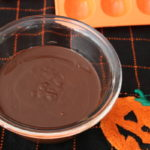 homemade halloween candy melted chocolate