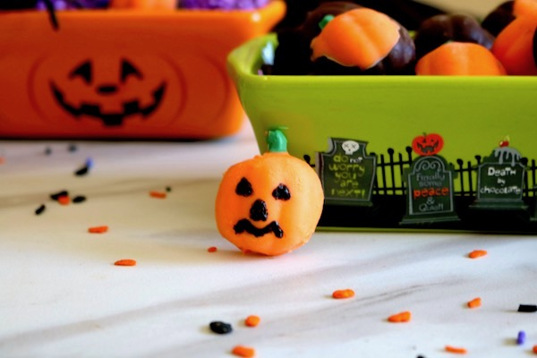 homemade halloween candy pumpkins