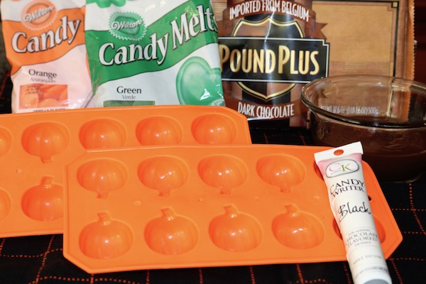 pumpkin candy molds