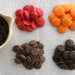 chocolate wafers and candy melts