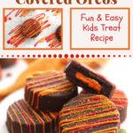 fall chocolate covered oreos pin