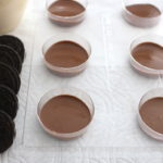 oreo cookie mold with chocolate
