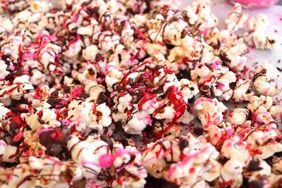 valentine popcorn multi melted candy melts