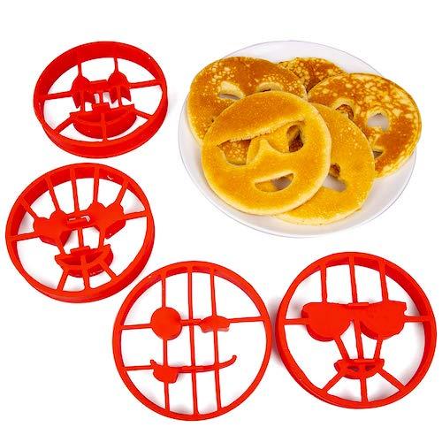 emoji pancake molds