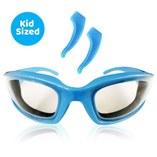 onion goggles blue