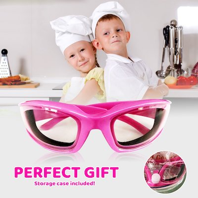 pink onion goggles