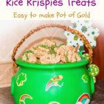 st patricks day rice krispies treats