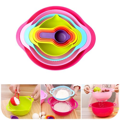 tenta kitchen 13 piece bowl set