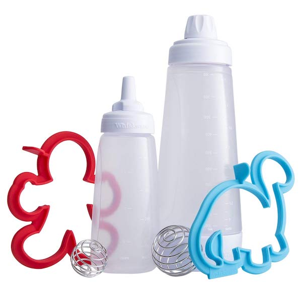 whiskware batter bottles with molds