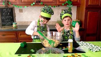 kids rice krispies treats