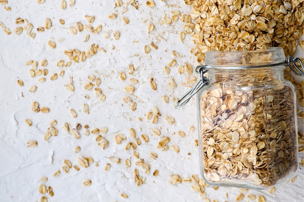 oats in a jar
