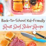 Back To School Kid Friendly sliders pin
