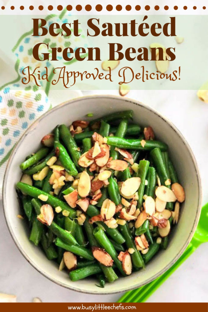 best sautéed green beans pin