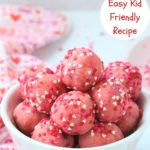 best strawberry cake balls pin