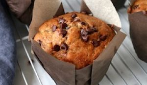 tn banana chocolate chip muffins