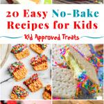 20 no bake recipes for kids