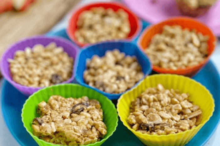 granola cups for kids