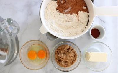 chocolate snowball cookies ingredients